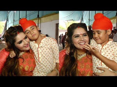 Anjali Anand CUTE Interview On Kulfi Kumar Bajewala Serial Sets