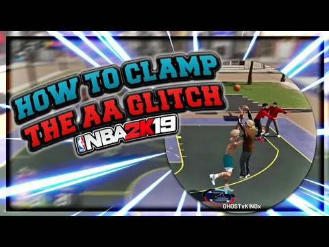 HOW TO CLAMP THE  AA GLITCH! LOCKDOWN ANY STRETCH/ SHARPSHOOTER NBA 2K19!