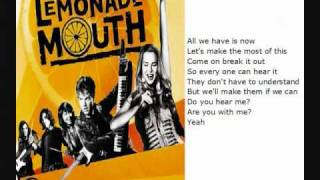 Lemonade mouth - Turn up the Music - with lyrics