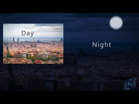 Day To Night Effect Two Minutes Process Editing | Photoshop Tutorial - Tech Perfect thumbnail