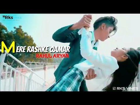 MERE RASHKE QAMAR | Love Story | Choreography By Rahul Aryan | Dance Story | School Love Story 2019