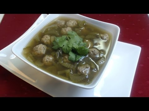 Chicken Meatball Soup, HCG Phase 2