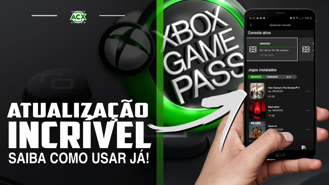 Atualização SENSACIONAL no App do XBOX GAME PASS! Use AGORA!