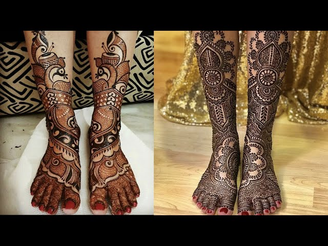 Bridal feet mehndi designs || heavy bridal Mehndi for feet || Foot mehndi || Kaur Trends