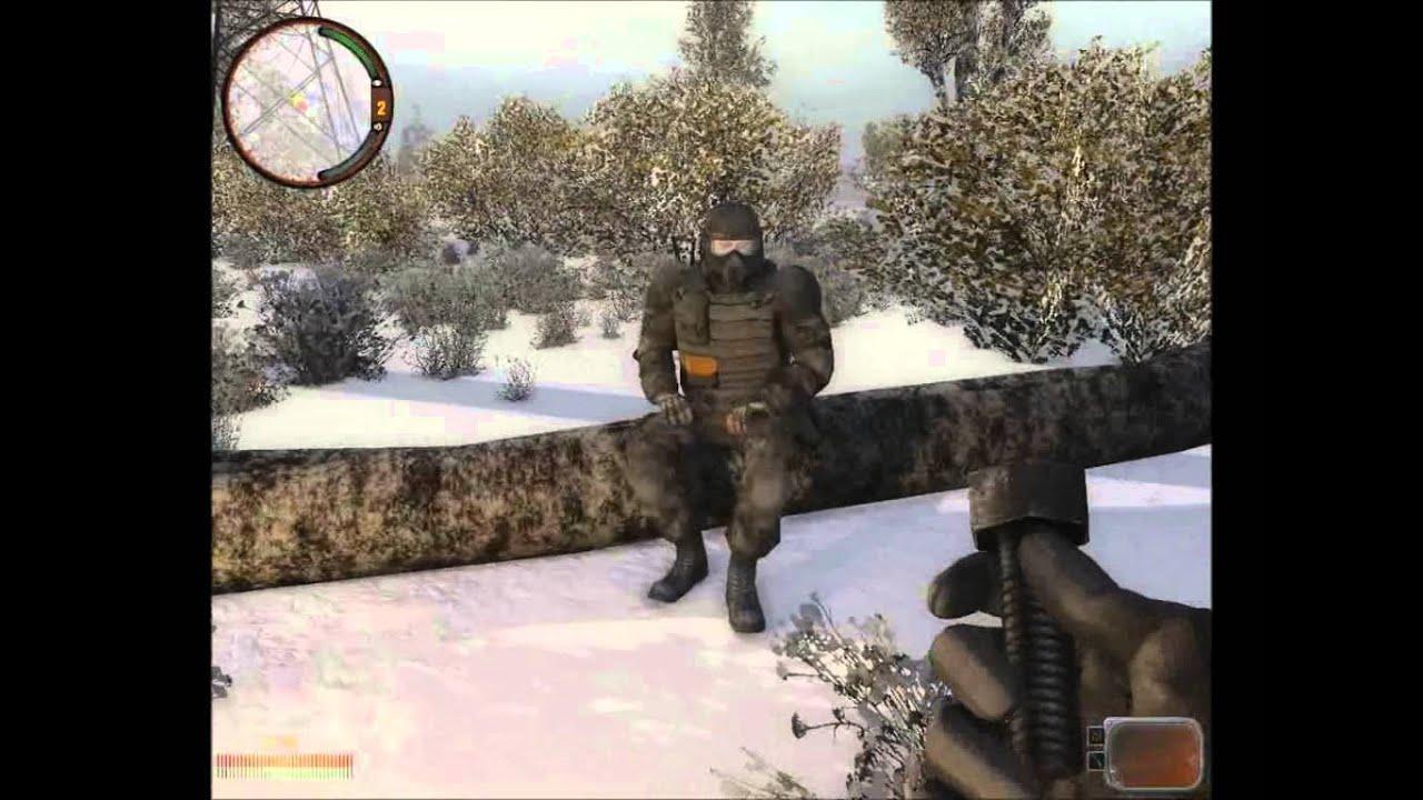S. T. A. L. K. E. R. : call of pripyat зимний путь 1. 2-альтернатива.