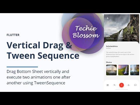 Vertical Drag & Tween Sequence   Flutter SDK