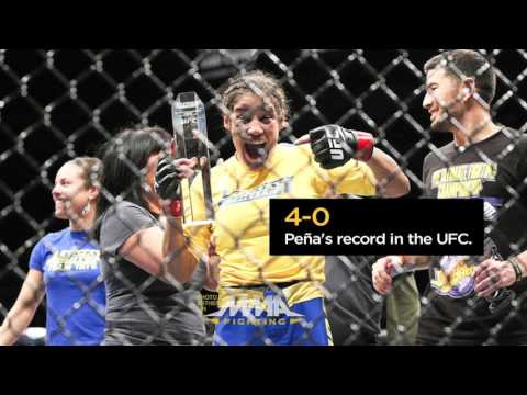 UFC On FOX 23: Valentina Shevchenko Vs. Julianna Pena Full Fight Preview - 'By The Numbers'