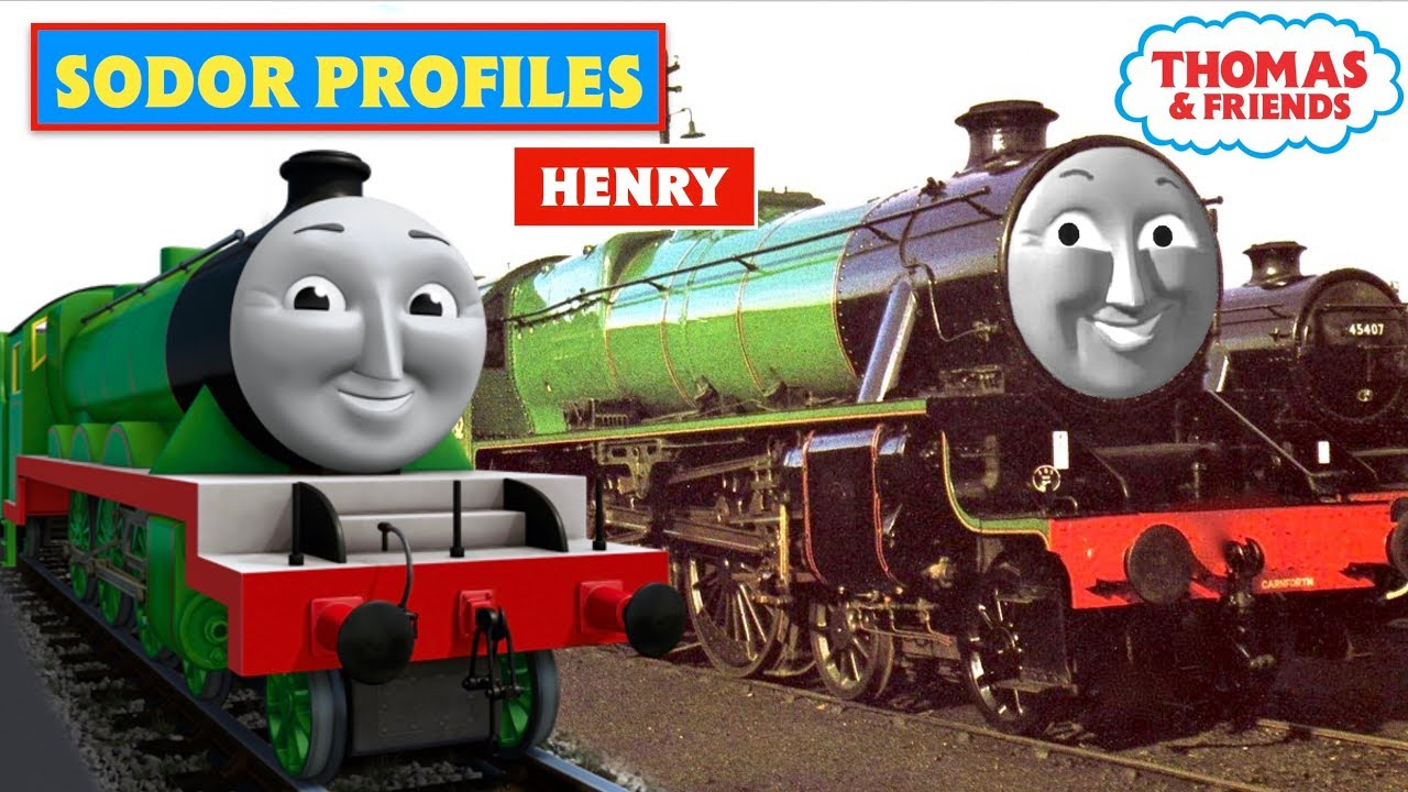 meet thomas henry the green engine and friends