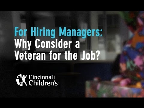 Here's what managers should know about hiring veterans ...