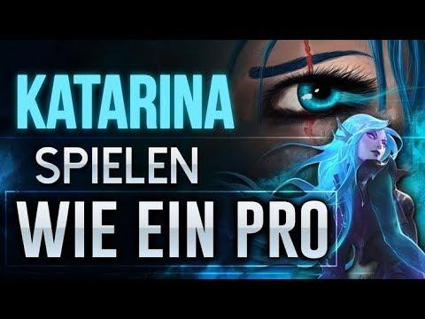 Katarina Spielen Wie Ein Pro Katarina Guide Combos Tricks Youtube