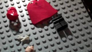 How to make custom lego red hood (Joker)