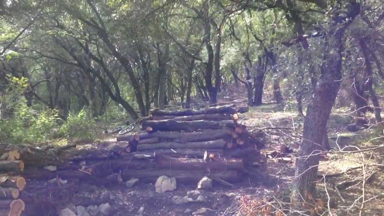 San Antonio Texas Downhill Mountain Bike Jump Youtube