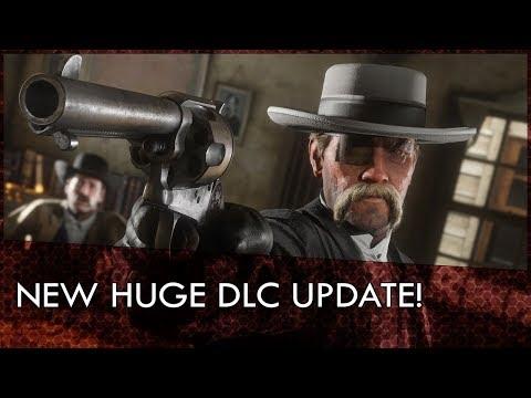 NEW HUGE Red Dead Online DLC! POKER! NEW MISSIONS!  LEMAT REVOLVER! MORE! (Livestream)