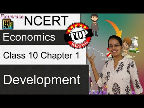 NCERT Class 10 Economics Chapter 1: Development