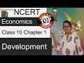 NCERT Class 10 Economics Chapter 1: Development