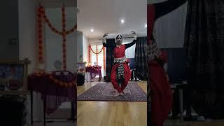MADHAVI SARAF RAWALFacebook LIVE VIDEO  BHARATNATYAM DANCE