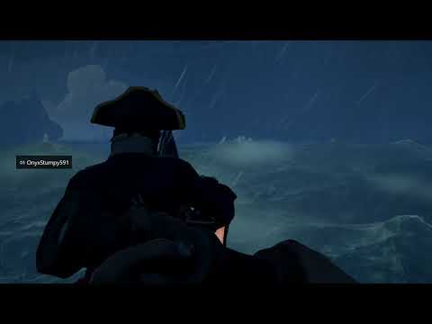 Sea of Thieves Beta - Full crew - The hidden Gold of Jolly Prodger Voyage - Full Pirate accent!