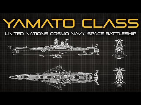 Space Battleship Yamato - Ship Breakdown