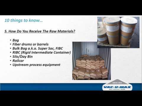 Maximizing Movement of Powders while Minimizing Dust Exposure with Properly Designed Pneumatic Conve