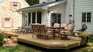 Wood Deck Designs Pictures