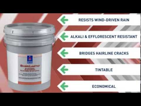 Sherlastic Elastomeric Coating Sherwin Williams