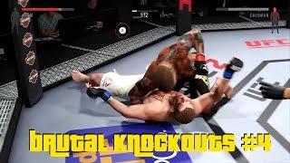 EA Sports UFC 2 - Best Brutal Knockouts Compilation #4