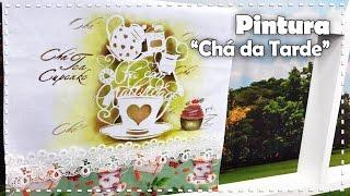 PINTURA CHÁ DA TARDE com Juari Souza