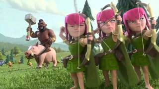 Official Clash of Clans T.V. Commercial!