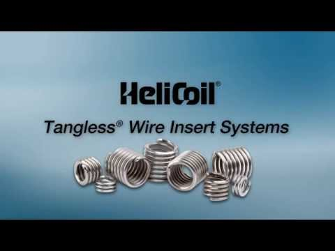 Heli Coil Tangless Inserts Youtube