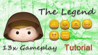 Line Disney Tsum Tsum - Jedi Luke (Poorly) Explained