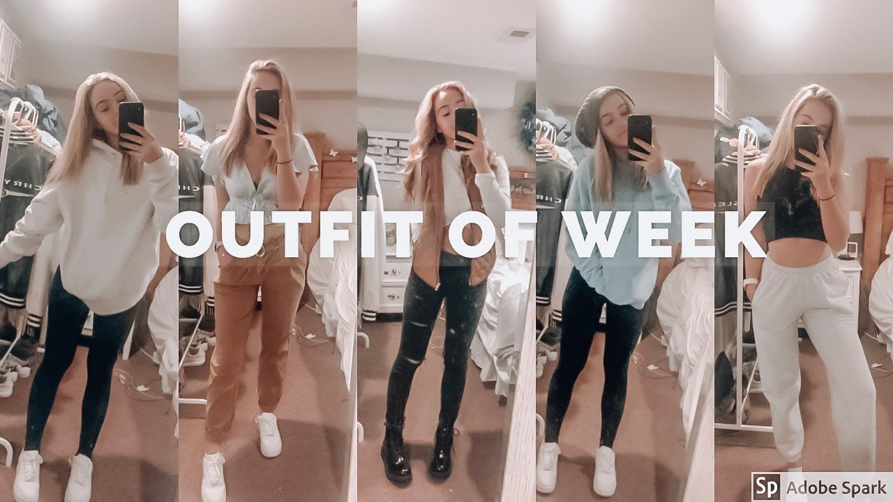 [VIDEO] - FALL OUTFITS OF THE WEEK!! 3