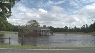 5 days after landfall the biggest threat from Florence is flooding