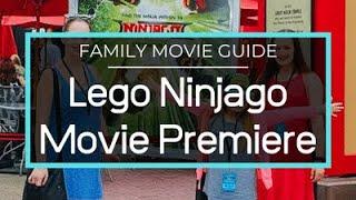 Lego Ninjago Movie Premiere! Jackie Chan, Olivia Munn, Dave Franco
