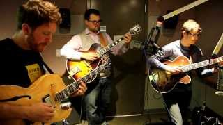 "New West Guitar Group - ""Blue Rondo a La Turk"" Live in the Bright Moments! Studio"