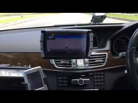 A Mobile Display Terminal (MDT) installed in a ComfortDelGro taxi