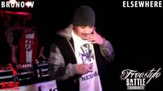 BRUNO IV vs ELSEWHERE Freestyle Tour Rd. 1 - 3/10/2012