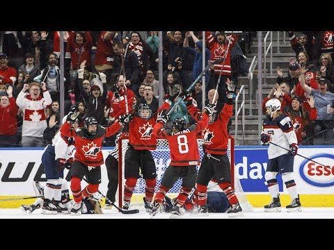 Canadian women's hockey team caps series against U.S. with win