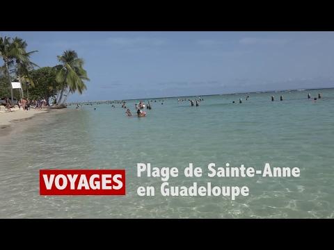 Plage De Sainte-Anne En Guadeloupe - M97.TV