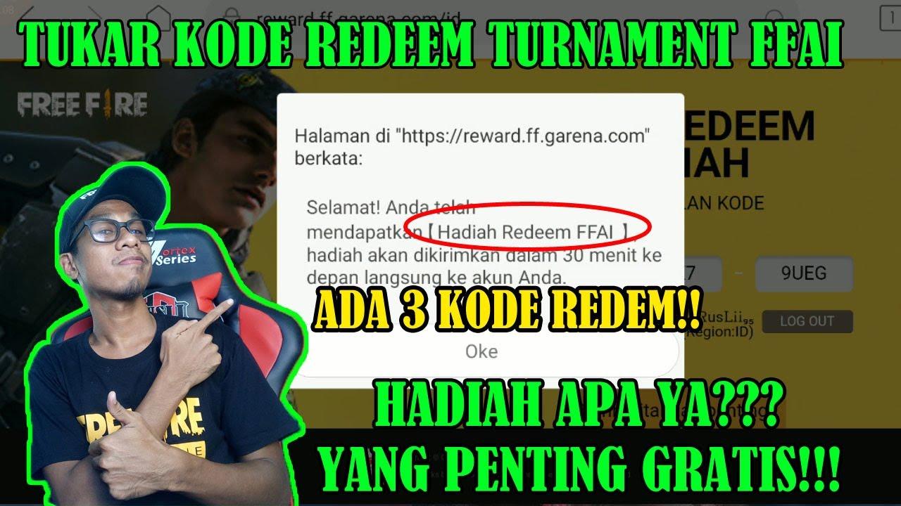 KODE REDEEM FFAI 7 SEPTEMBER 2019 - Free Fire Indonesia