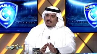 الأمير نواف بن سعد : أنا أحترم الإعلام ولا أصادر رأي أحد