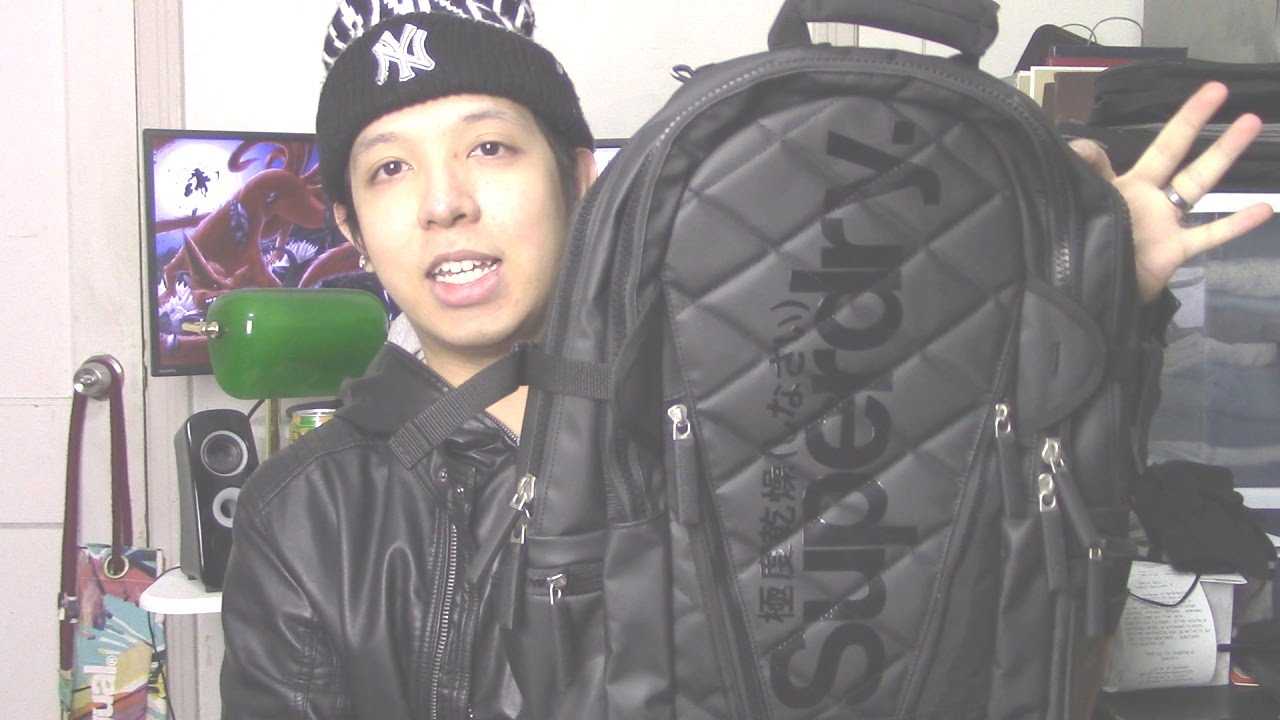 Bought A Black/Orange/White Quilted Tarp Backpack At Superdry ... : superdry quilted rucksack - Adamdwight.com