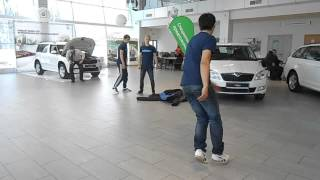 Fighters crew - День открытых дверей в автосалоне Skoda
