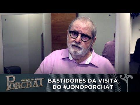 EXCLUSIVO! VEJA OS BASTIDORES DA PARTICIPAÇÃO DE JÔ SOARES NO PROGRAMA DO PORCHAT