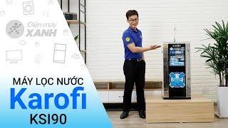 Máy lọc nước RO Karofi KSI90 9 lõi - Nước sạch tinh khiết hơn | Điện máy XANH