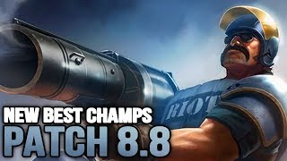 New Best Champions in Patch 8.8 SEASON 8 for Climbing in EVERY ROLE (League of Legends)