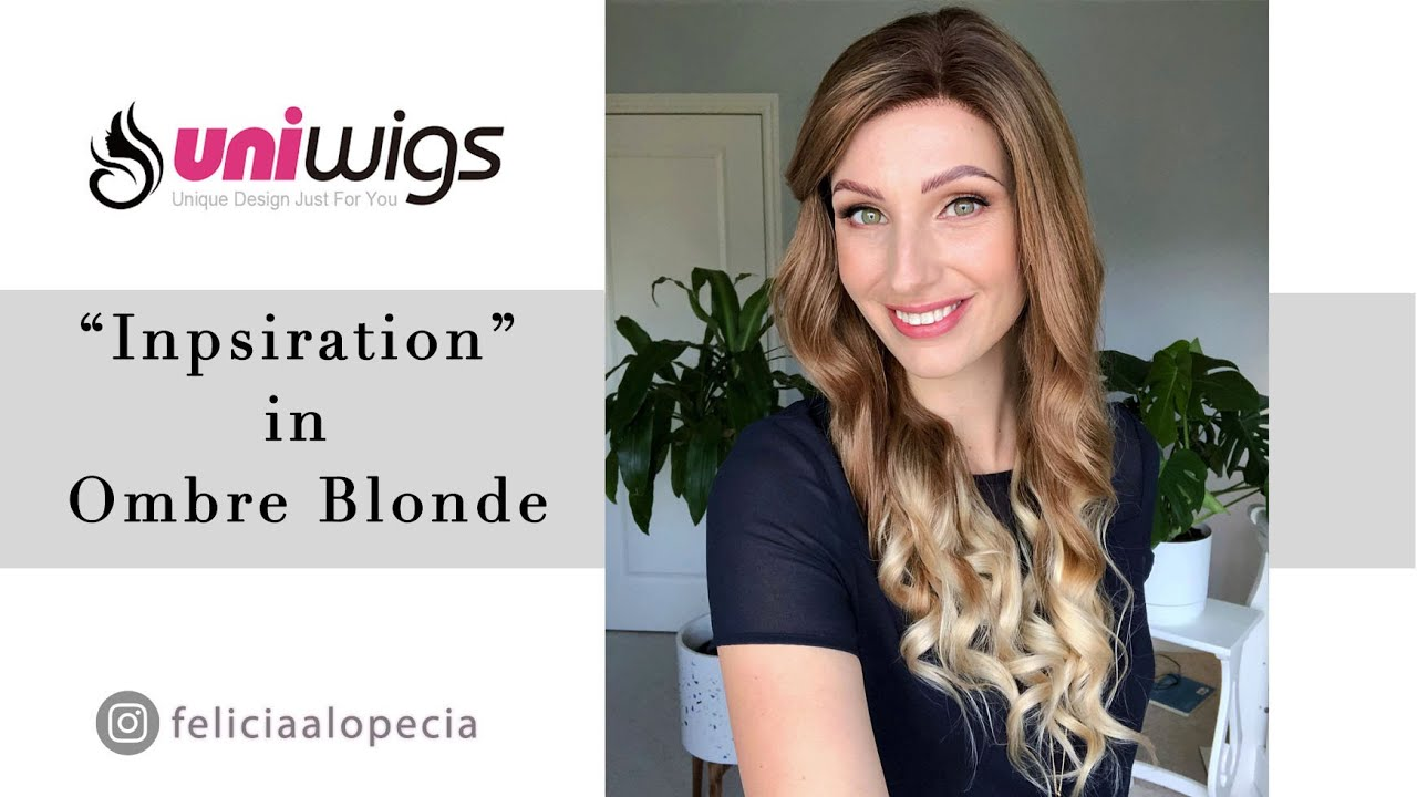 Inspiration Wig by Uniwigs in Blonde Ombre