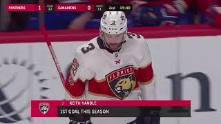 Keith Yandle Goal vs FLA October 24, 2017