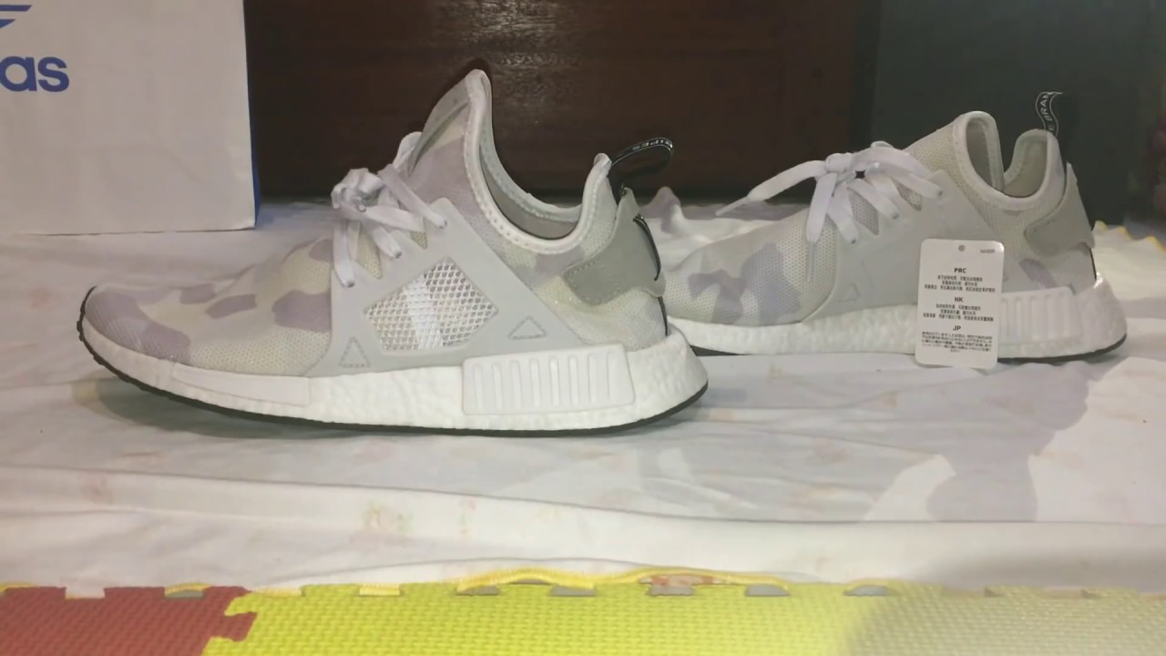 Adidas NMD XR1 PK Primeknit Light Granite Women Grey Sobuy.co