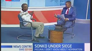 Nairobi Governor Mike Sonko accused of nominating Miguna to pre-empt his impeachment.