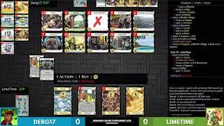 Dominion Online Championship Quarterfinals: Limetime vs Derg17